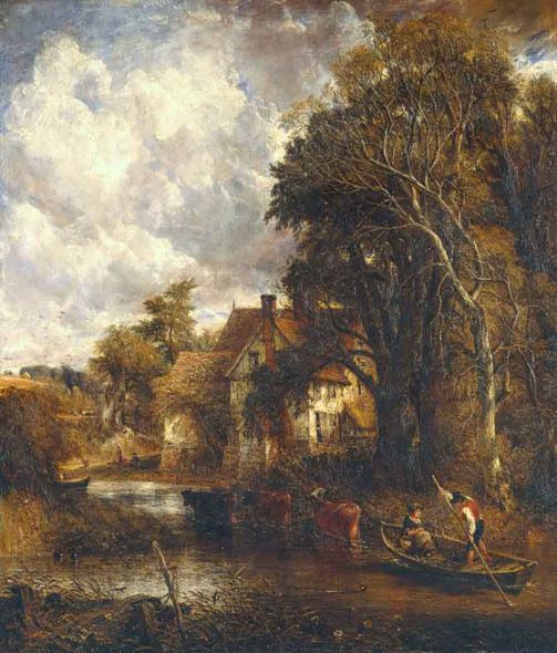 The Valley Farm By John Constable By John Constable