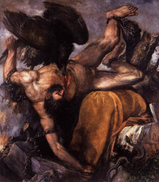 Tityus By Titian