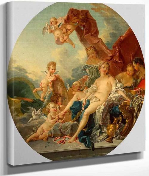 Toilet Of Venus By Francois Boucher