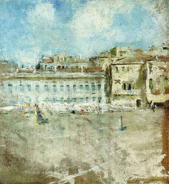 Venice By Charles W. Hawthorne