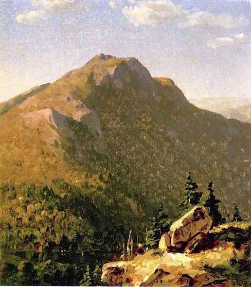 View Of Catskills By Sanford Robinson Gifford By Sanford Robinson Gifford