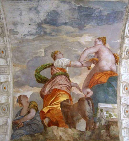 Villa Barbaro Fortune, Abundance And Fraud By Paolo Veronese
