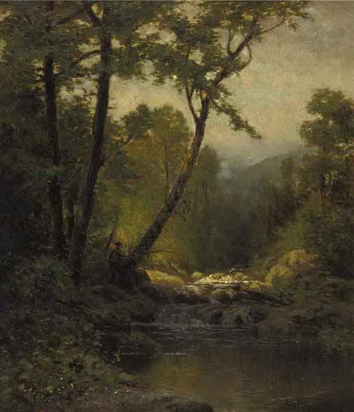Woodland Landscape By Bruce Crane