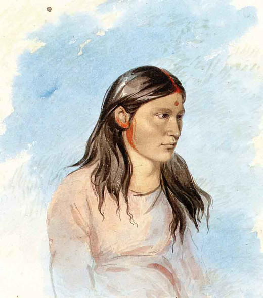 Wun Pan To Mee, The White Weasel, Kiowa By George Catlin By George Catlin