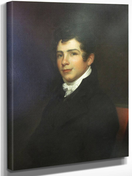 Charles Sloan By Rembrandt Peale