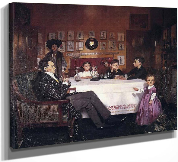 A Bloomsbury Family By Sir William Orpen By Sir William Orpen