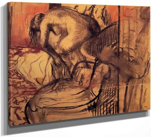 After The Bath12 By Edgar Degas