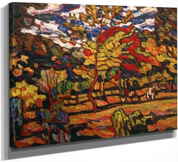 Autumn Sunshine By Abraham A. Manievich