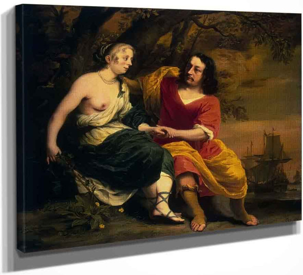 Bacchus And Ariadne By Ferdinand Bol