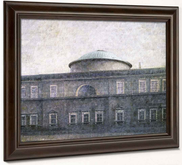 Christiansborg Palace Chapen, Copehagen By Vilhelm Hammershoi By Vilhelm Hammershoi