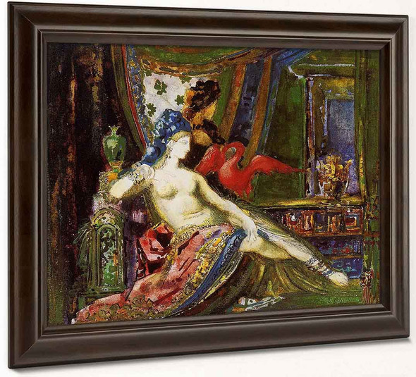 Dalila By Gustave Moreau