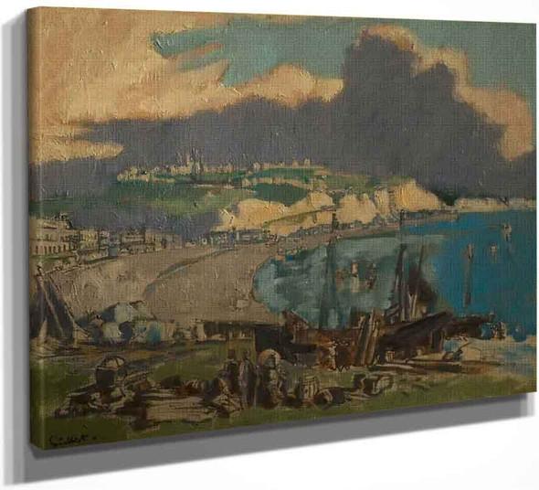 Dover, Kent By Walter Richard Sickert By Walter Richard Sickert