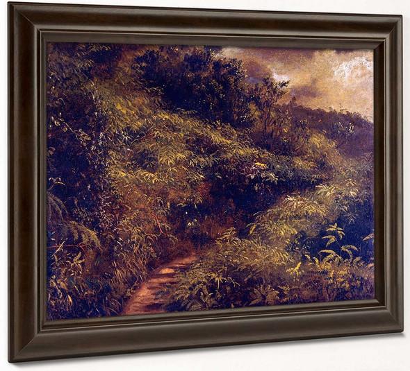 Fern Walk By Frederic Edwin Church By Frederic Edwin Church