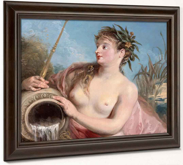 Fountain Nymph By Jean Antoine Watteau French1684 1721
