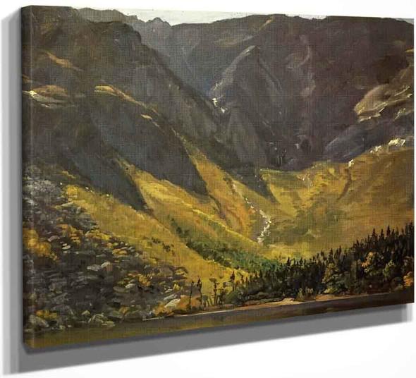 Great Basin, Mount Katahdin, ,Maine By Frederic Edwin Church By Frederic Edwin Church