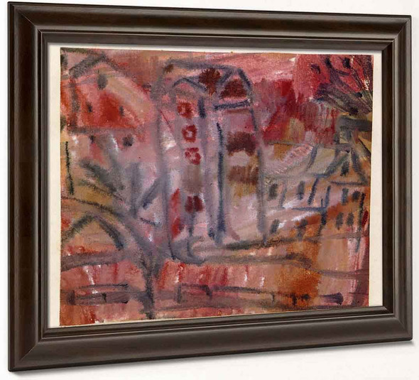 Group Of Houses By Paul Klee