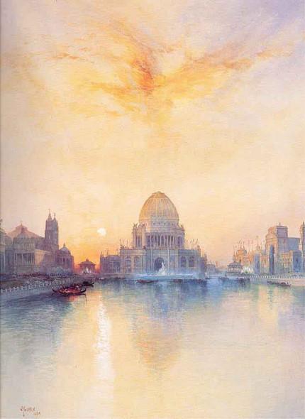 Chicago World's Fair By Thomas Moran