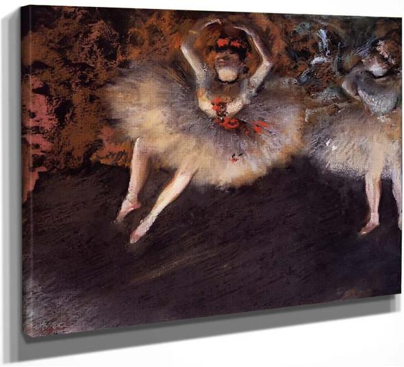 Le Pas Battu By Edgar Degas