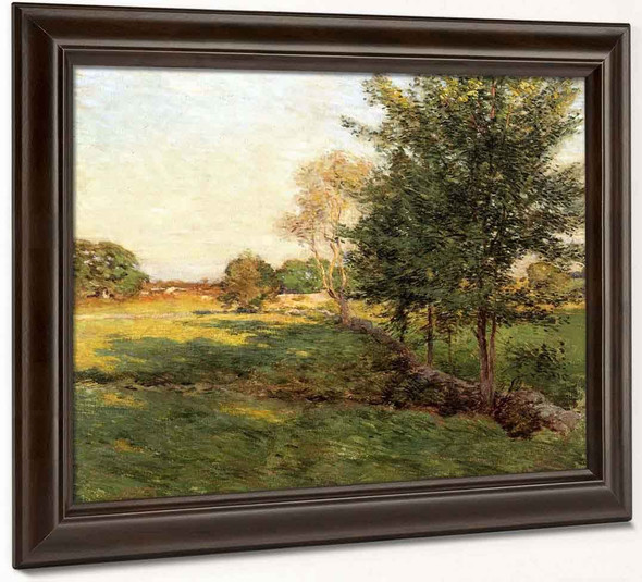 Lengthening Shadows By Willard Leroy Metcalf