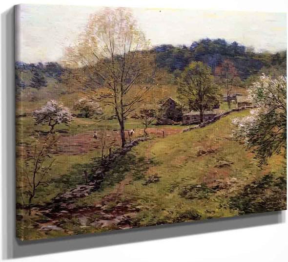 Maytime1 By Willard Leroy Metcalf