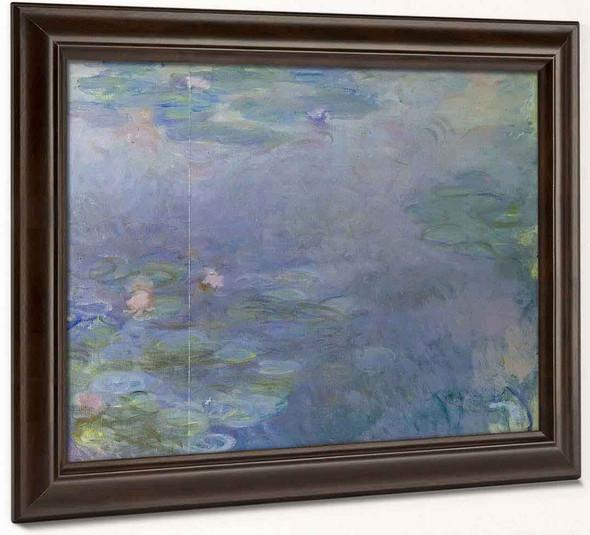 Pale Water Lilies By Claude Oscar Monet