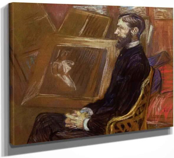 Portrait Of Georges Henri Manuel By Henri De Toulouse Lautrec