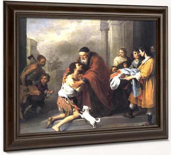 Return Of The Prodigal Son By Bartolome Esteban Murillo