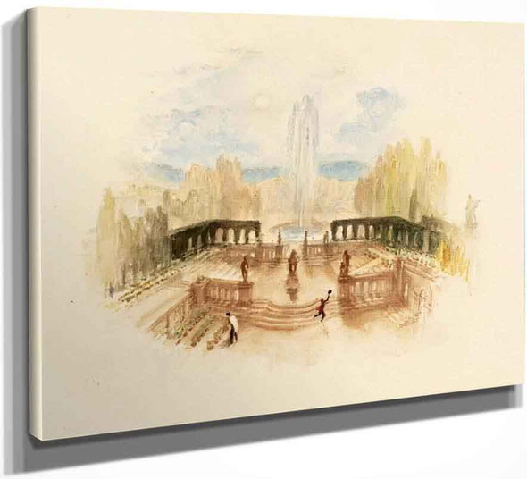 Rogers's 'Poems' A Garden By Joseph Mallord William Turner