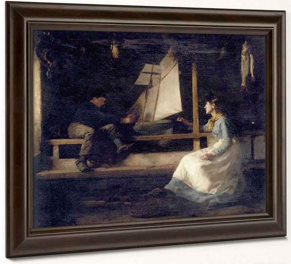 Ship Builders By Henry Scott Tuke
