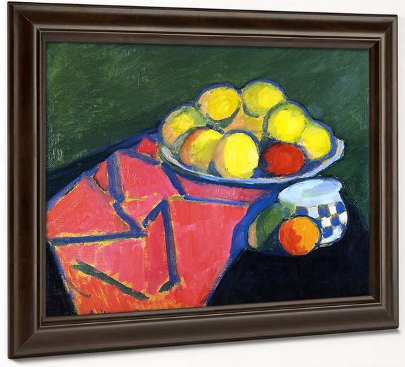 Still Life With Apples2 By Alexei Jawlensky By Alexei Jawlensky