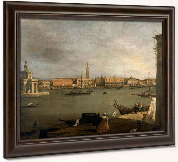 The Bacino Di San Marco Looking North By Canaletto By Canaletto