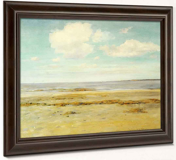 The Deserted Beach By William Merritt Chase