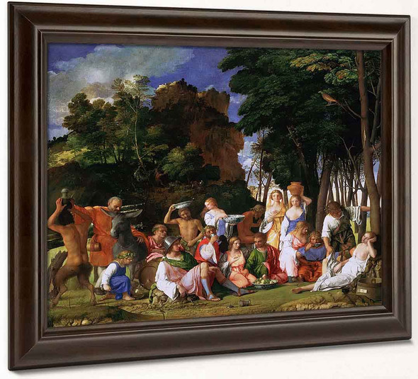 The Feast Of The Gods By Titian