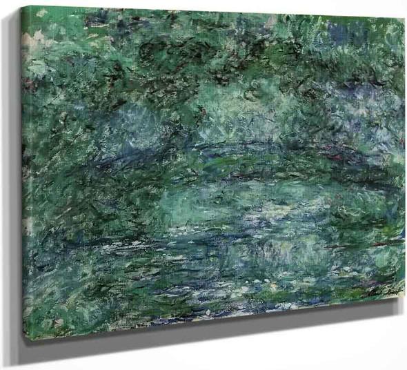 The Japanese Bridge9 By Claude Oscar Monet