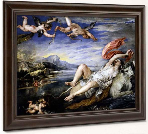 The Rape Of Europa By Peter Paul Rubens