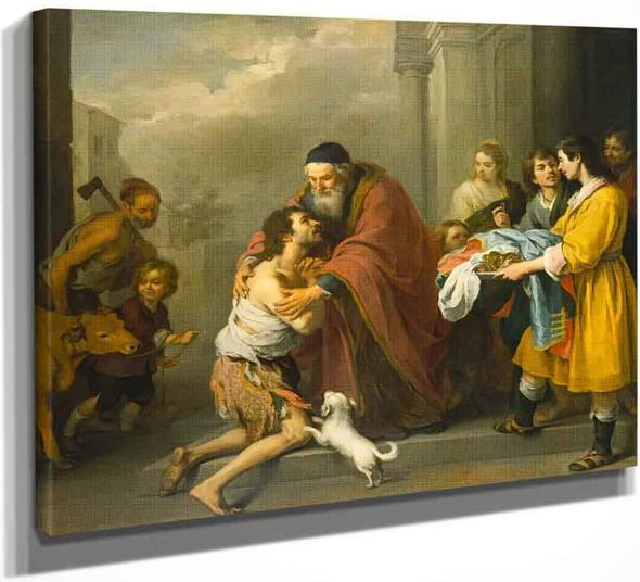 The Return Of The Prodigal Son By Bartolome Esteban Murillo