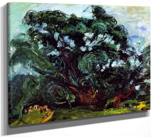 The Tree By Chaim Soutine