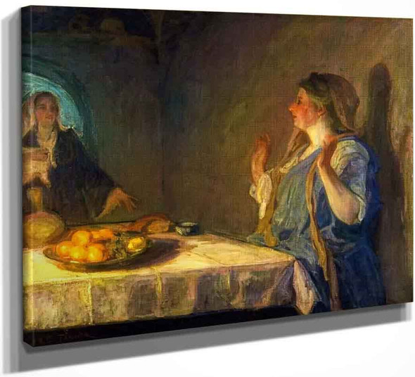 The Visitation By Henry Ossawa Tanner