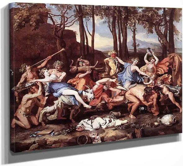 Triumph Of Neptune By Nicolas Poussin