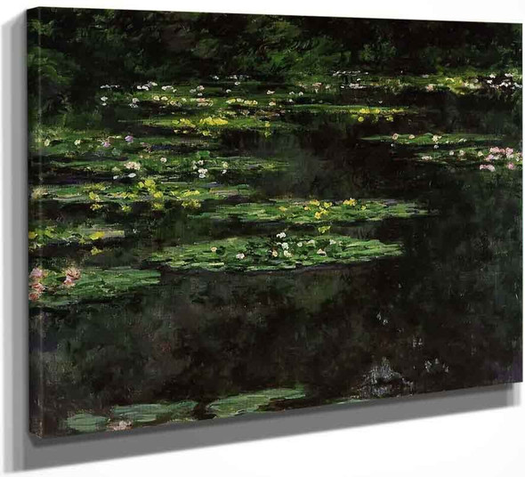 Water Lilies16 By Claude Oscar Monet