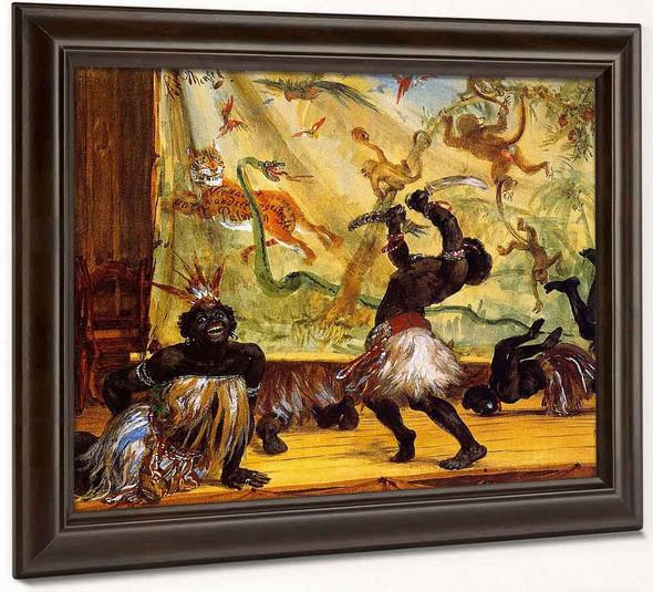 Zulus By Adolph Von Menzel By Adolph Von Menzel