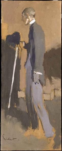 Aubrey Beardsley By Walter Richard Sickert Art Reproduction