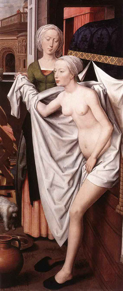 Bathsheba By Hans Memling Art Reproduction