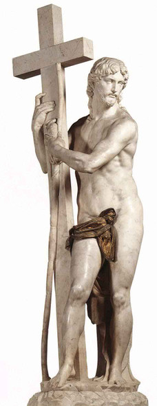 Christ Carrying The Cross By Michelangelo Buonarroti Art Reproduction