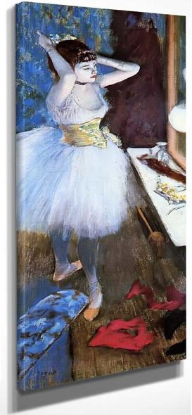 Dancer In Her Dressing Room1 By Edgar Degas