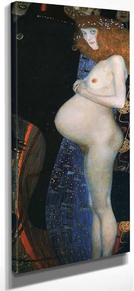 Hope I By Gustav Klimt