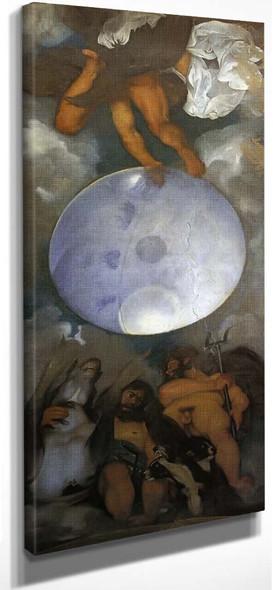Jupiter, Neptune And Pluto By Caravaggio By Caravaggio