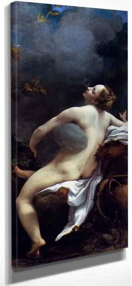 Jupiter And Io By Correggio By Correggio