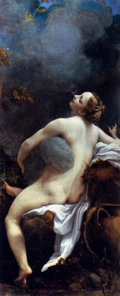 Jupiter And Io By Correggio By Correggio Art Reproduction