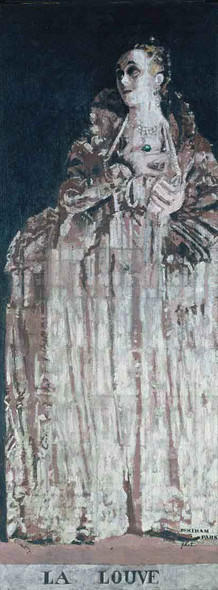 Miss Gwen Frangcon Davies As Isabella Of France By Walter Richard Sickert Art Reproduction